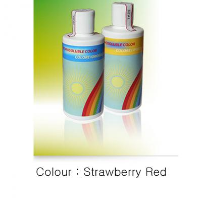 Hydrosoluble Liquid Colour- Strawberry RED